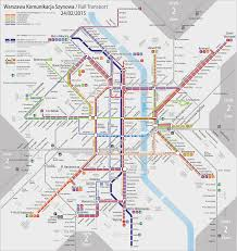 Metro Moscow Map Pdf by Map Of Warsaw Tram Stations U0026 Lines