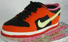 nike shoe birthday cake san francisco giants colors flickr