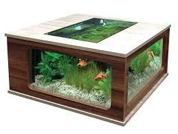 fish tank coffee table diy table aquarium coffee table aquarium fish tank design de maison