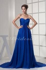 a linie herzausschnitt knielang chiffon brautjungfernkleid mit gestupft p551 abendkleider lang günstig königsblau kleid hochzeit