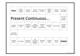 99 free esl present progressive worksheets