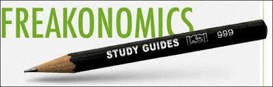 a note on freakonomics student and teacher guides freakonomics