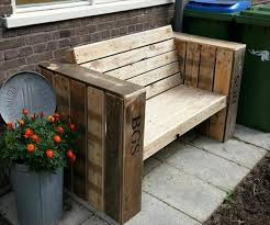 amazing of front patio bench over the big moon diy front porch