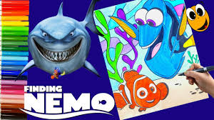 crayola finding nemo coloring book washable markers colored