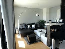 decoration salon cuisine deco salon noir blanc argente daccoration salon gris blanc