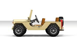 lego mini jeep military m151 mutt needs your support to be immortalized in lego