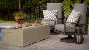Patio Furniture Cove - cove 1242 gas fire pit table youtube