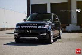 matte black range rover black on black matte land rover range rover sport with custom