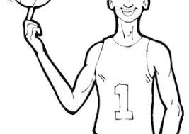 nba coloring pages coloring4free com