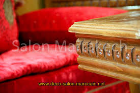 deco salon marocain décoration salon marocain rouge pas cher déco salon marocain