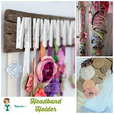 how to make a headband holder 26 easy how to make hair bows step by step tip junkie