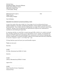 Partnership Letter Of Intent Template by Permission Letter To Visit Company Doc