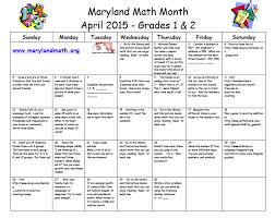 april is math month ducketts lane mathematics