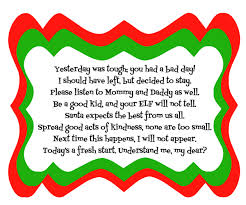 Funny Halloween Poems That Rhyme Elf On The Shelf Bad Day Poem With Printable Diy Inspired