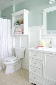 best 25 small cottage bathrooms ideas on pinterest small lowe s bathroom makeover reveal the golden sycamore paint colors comfort gray walls pure white board batten trim wall cabinet vanity base