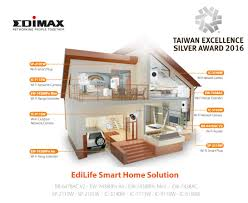 edimax press releases edimax edilife smart home solution wins