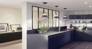 deco de cuisine déco cuisine idée peinture carrelage couleur et meuble