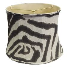 zebra print lamp shade free shipping today overstock com