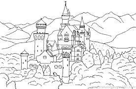 Castle Coloring Pages Castle Coloring Pages Free Sand Castle Sandcastle Coloring Page