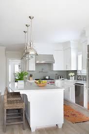 Wicker Kitchen Furniture Kitchen With Wicker Counter Stools Transitional Kitchen
