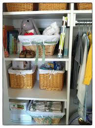 Closet Organizers For Baby Room Baby Nursery Baby Nursery Closet With Storage Furniture White