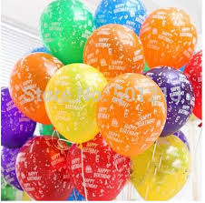 helium balloon delivery free ship 12inch birthday party decoration ballons