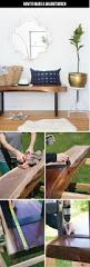 how to make a live edge walnut bench francois et moi