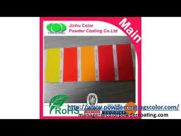 ral colors powder coating youtube