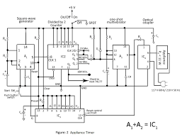 timer ic wiring diagram components