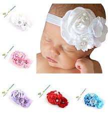 baby girl hair bows roewell baby hair bows flower 5 pack