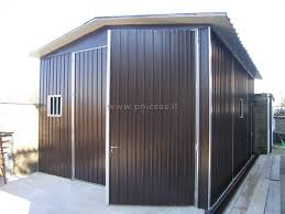 capannone in lamiera box in lamiera roma pmc prefabbricati e arredo giardino
