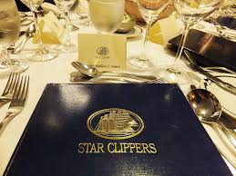captains dinner table setting cruisington times