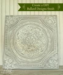 october 2014 noble vintage diy how to create a ballard designs finish