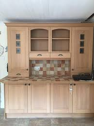 Shaker Style Exterior Doors by Used Kitchen Solid Oak Wood Doors Shaker Style In Twyford
