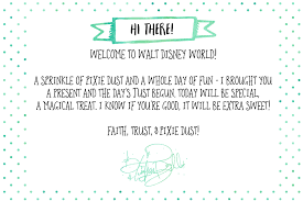 free printable notes disney characters tinker bell gift