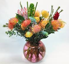 Long Stem Flowers 12 Long Stem Gift Box Of Protea Flowers From Maui Hawaii
