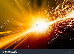abstract background bright orange lights flash stock illustration