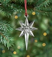 iridescent glitter pewter reindeer christmas tree ornament xmas