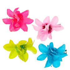 flower hair clip kids hibiscus flower hair s us