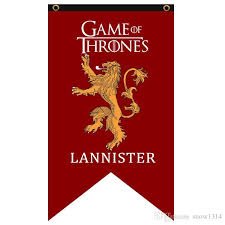 house lannister 2018 game of thrones flag house lannister banner 75cm 125cm