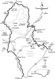 blue ridge parkway map great smoky mountains national park