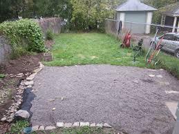 gravel backyard stage using gravel backyard u2013 design and ideas
