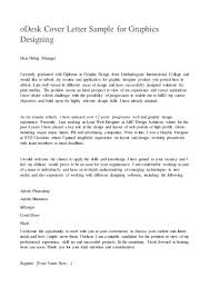 Executive Resume Cover Letter Sample by Odesk Cover Letter Sample For Graphics Designing