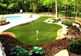 Putting Turf In Backyard Improve Your Short Game In Your Own Backyard Yantons Outdoor