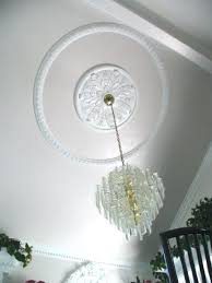 What Size Ceiling Medallion For Chandelier Ceiling Medallion For Chandelier U2013 Eimat Co