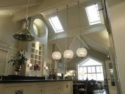 Lighting For High Ceilings Artistic Lights For High Ceilings Kitchen Using Pendant Light