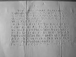 History Of Blindness A Brief History Of Tactile Writing Systems For Readers With