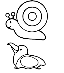 simple animal coloring pages gallery kid 2697 unknown