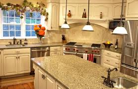 quartz countertops countertop options for kitchen lighting