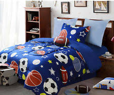 Sports Comforter Sets Twin Boys Sports Bedding Ebay